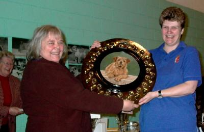 Gail Simpson won the Colonsay Dixy Shield with Megalex Measure Twice
