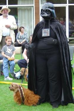 Adult Fancy Dress Darth Vader & Chewbacca