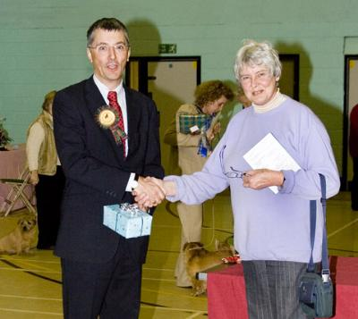Presentation to the Judge Paul Eardley by Cherry Howard