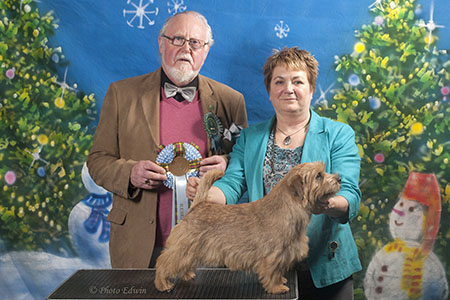 Reserve Best in Show and Reserve Best Dog: BLAKENS THE KANDY MAN KAN with Jackie Phillips