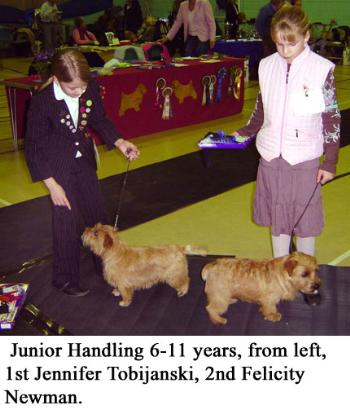 Junior Handling 6-11 Years