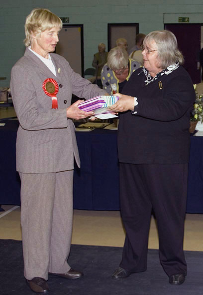 Presentation to the Judge Ruth Corkhill by the President