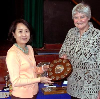 Mrs Nabuko Matsumura won the American Points Shield with Jaeva Silent Whisper (Diamond).