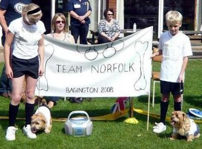 Junior Fancy Dress, Olympic Challenge Team Norfolk and The Footballer